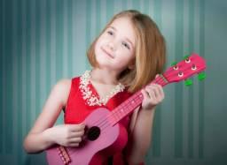 Aulas de violão/ukulele para crianças a partir de 5 anos À domicílio