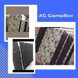 Cama Box Casal 5cm , 8cm , 10cm , 12cm e 15cm