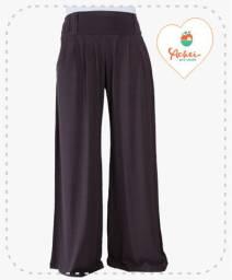 Calça Pantalona (Marrom)