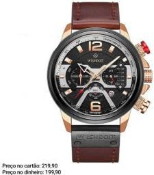 Relógio masculino importado original Wishdoit 100% funcional