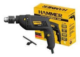 Furadeira de Impacto Hammer FI 1000 550W Preta e Amarelo