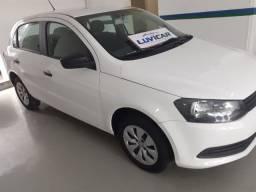 VW Gol 1.6 MI Branco completo c Banco de couro novissimo