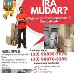 Mudança local e para todo Brasil . Ligue e peça seu orçamento * _ *