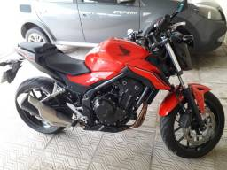 CB 500F 2018 Baixa Km