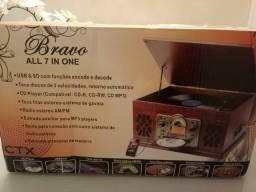 Toca-discos CTX Bravo 7 em 1