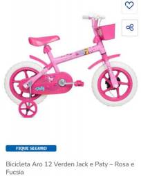 Bicicleta Infantil Aro 12 Verden Jack - Rosa