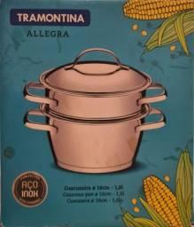 Título do anúncio: Cuscuzeira Tramontina Allegra