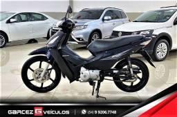 Título do anúncio: Honda Biz + 125 Revisada Procedência Pneus Novos com Partida Rll Freio a Disco
