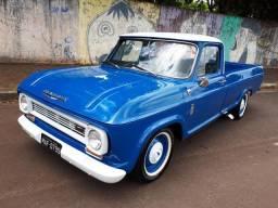 Carro de Patrão - Colecionador GM C10 6Cil 1972 - Raridade Placa Preta