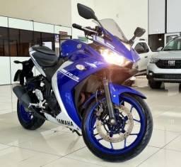 Título do anúncio: Moto YZF R3 ABS 320cc 2018 Azul *apenas 20mil km*