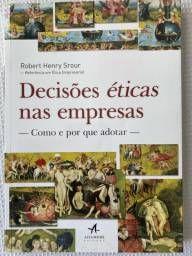 Livro Decisões Éticas nas Empresas - Robert Henry Srour