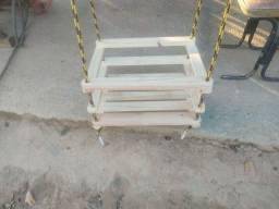 Título do anúncio: Balanço de madeira