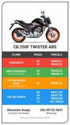 Moto cb twister 250 abs modelo 2021