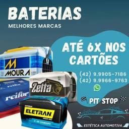 Pit stop baterias e acessórios
