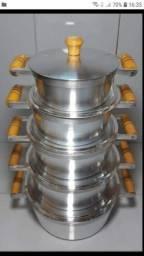 Panelas alumínio batido GROSSA