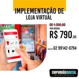 Implementação de Loja Virtual