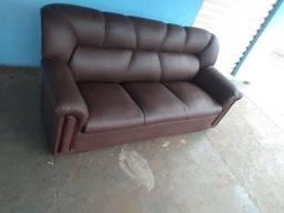 Título do anúncio: Reforma sofá 3 lugar , modelo simples 490,00