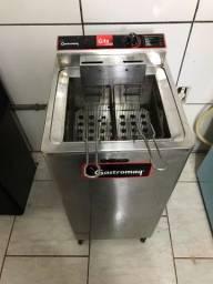 Título do anúncio: Fritadeira elétrica água e óleo 5.000W, marca gastromaq.