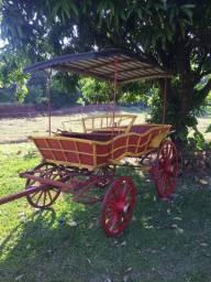 Charrete-jardineira-carroça-diligência