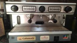 Título do anúncio: Máquina para café expresso La Spaziale, 2 grupos