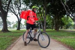 Entregador com Bike ABC
