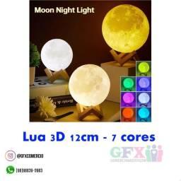 Título do anúncio: LUA 3D 12cm - 7cores
