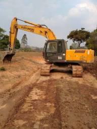 Título do anúncio: Escavadeira hidráulico Hyundai R 210 LC 7