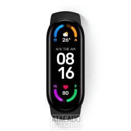 """Xiaomi Mi Smart Band 6 1.56"""" pulseira Black - 100% Original - Portugues"""