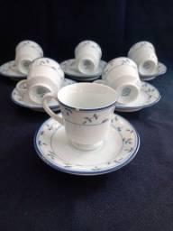 Título do anúncio: Xícaras para cafezinho porcelana SCHMIDT