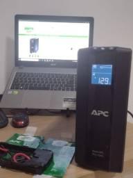 Título do anúncio: Nobreak APC back ups Pro 1000 de 1000VA para home office e proteção