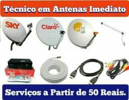 Título do anúncio: instalador de antenas