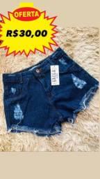 PROMOÇÃO short jeans feminino