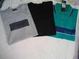 Camisas novas $ 15,00