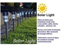 Título do anúncio: Lampada Luminaria luz led Solar para Jardim