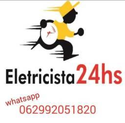 Título do anúncio: Eletricista predial e residêncial e energia solar 24horas