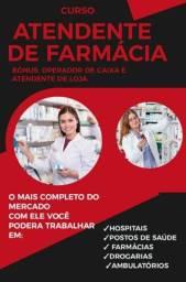 Título do anúncio: Curso atendente de farmácia online