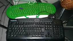 Dois teclado