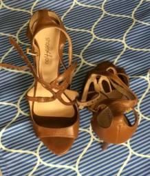 Sandália caramelo - Shoes4You (tamanho 34)