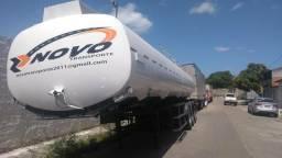 Carreta tanque em aluminio