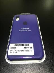 Case Capa Original Apple Iphone X Roxo