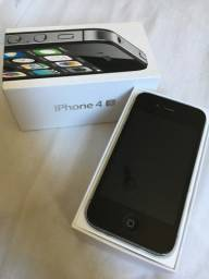 IPhone 4 S preto 8Gb bateria nova