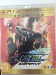 Vendo jogo de ps3 the king of fighters XIII