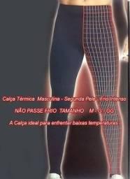 Calça Térmica Masculina - Segunda Pele - Para Frio Intenso