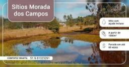 Sitio para a familia em Capela de Santana. 1000m² com açude. Whats 51 981323291
