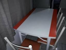 Mesa com 4 cadeiras 160 neg whats 999891237