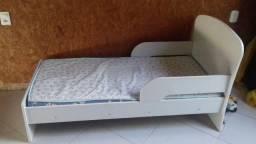 Mini cama infantil + colchão
