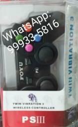 Controle Ps3 COM FIO. Novo na embalagem lacrada