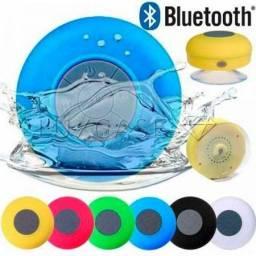 Caixa De Som Bluetooh Caixinha Prova De Agua Ventosa Banheiro 3w