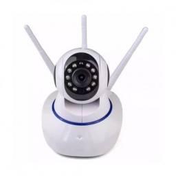 Camera Robo 3 Antenas Ip Wifi 360