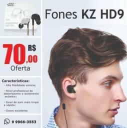 Fone de Ouvido KZ HD9